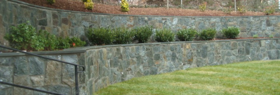 Landscaping Stone Maryland : Landscaping maryland stone work lawn